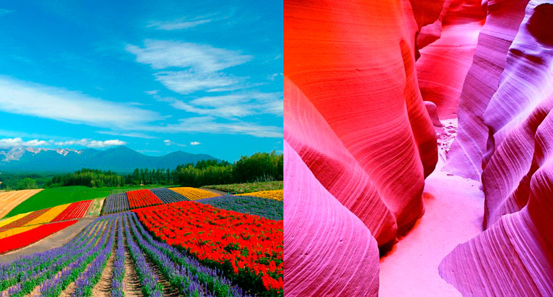 The 7 most colorful places in the world