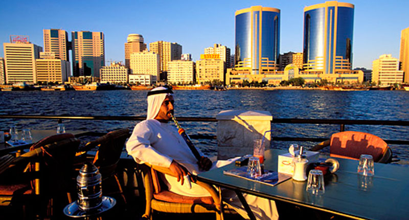 Why dubai is a rich emirate