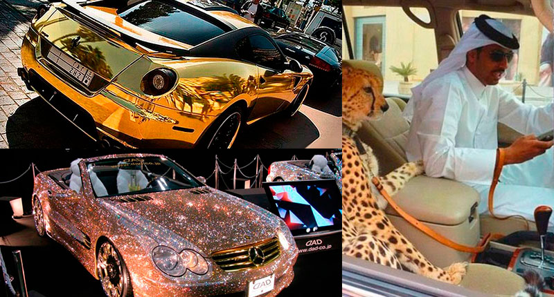 33 incredible pictures of rich men in Dubai